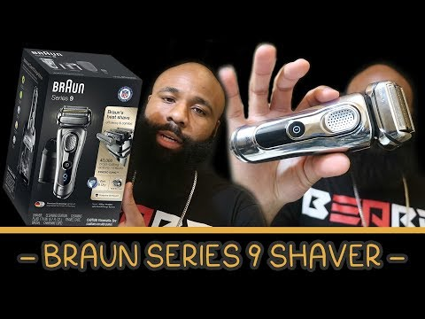 Braun Series 9 Premium Shaver | + Clean & Charge Station 💭