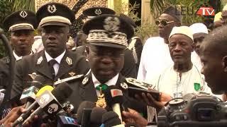 Cheikh SENE le nouveau haut Commandant de la gendarmerie, a pris fonction