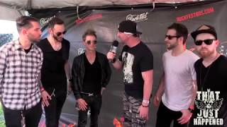 Stellar Revival - Live Interview at RockFest 80s