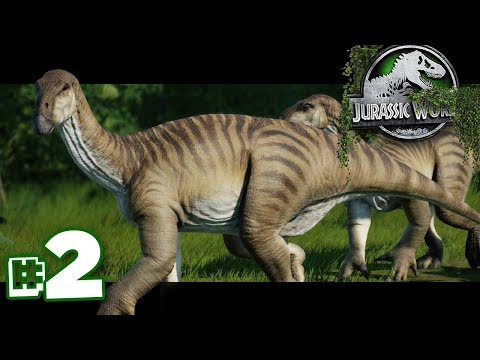 The Killer Herbivores are here! | The Dinosaur Preserve - Part 2 | Jurassic World Evolution