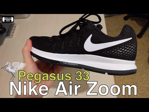 eb27200bb098 Nike Air Zoom Pegasus 33 Black Cool Grey Wolf Grey White Running ...