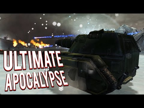 ULTIMATE IMPERIAL GUARD DEFENSE! - ULTIMATE APOCALYPSE MOD GAMEPLAY