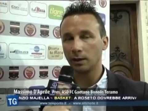 """Preview video Presentata l´ASD FC """"G. Bonolis"""" Teramo"""