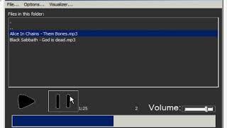 AudioPlayer mp3/wav By RezWaki