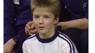 David Beckham- From Baby To 41 Year Old