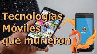 Tecnologías móviles que ya murieron