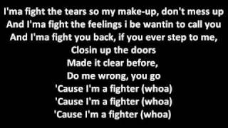 I'm A Fighter AARADHNA (lyric)