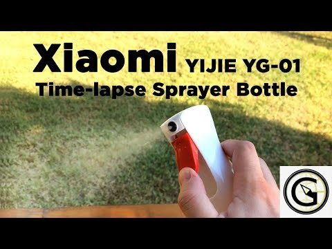 XIAOMI YIJIE YG 01 Time lapse Sprayer Bottle - Unboxing | BANGGOOD