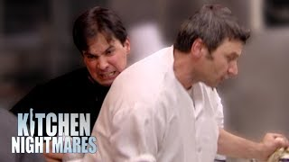 Out of Control Owner Attacks His Own Chef! | Kitchen Nightmares