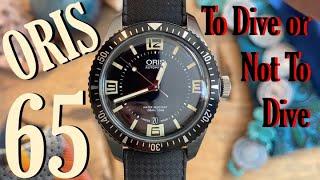 Oris Diver 65: A Diver Made For Dry Land? (Review 01 733 7707 4064-07 8 20 18)