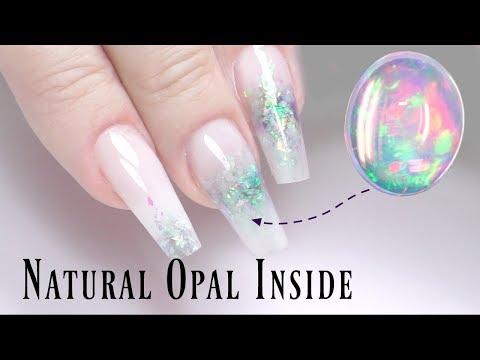 Natural Opal Nails Tutorial