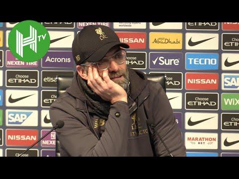 Man City 2-1 Liverpool I Jurgen Klopp: Vincent Kompany