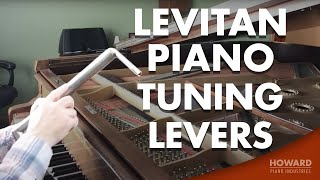 Howard Piano Industries is carrying a new line of piano tuning levers! Levitan Piano Tuning Levers