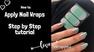 How To: Apply Jamberry Nail Wraps - Application Tutorial For Best Manicure Results