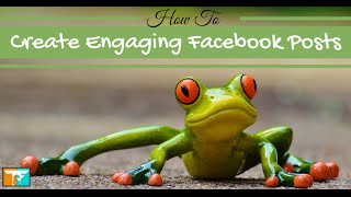 Great Facebook Posts How To Engage Your Audience Every Time