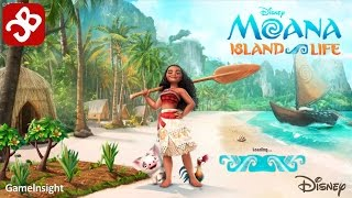 Moana Island Life (By Disney) - iOS/Android - Gameplay Video