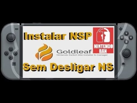 Como Instalar Jogos NSP pelo Cabo USB pelo Goldleaf Sem Desligar o