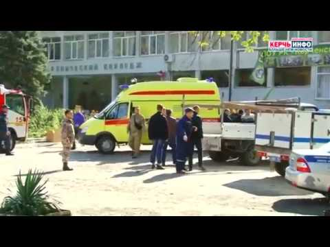 'Mass murder' at Crimean college