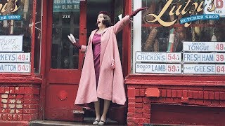 the Marvelous Mrs. Maisel,妙主婦梅索,預告片