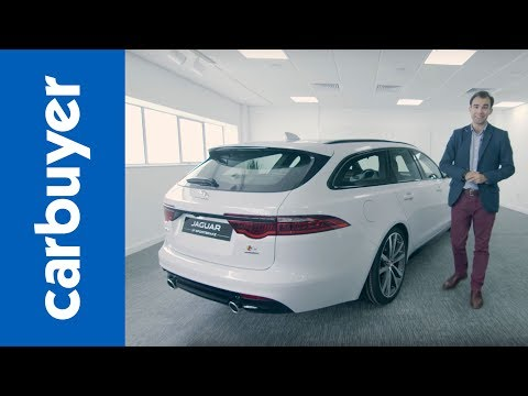 New 2018 Jaguar XF Sportbrake exclusive first look