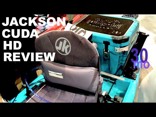 JACKSON CUDA HD kayak REVIEW - biloxi mississippi boat show