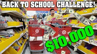BACK TO SCHOOL SHOPPING CHALLENGE!!! Price Is Right - Winner Gets $10,000!