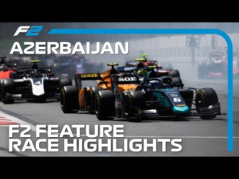 Formula 2 Feature Race Highlights | 2019 Azerbaijan Grand Prix