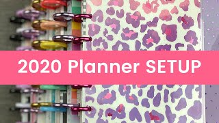 2020 Happy Planner SETUP
