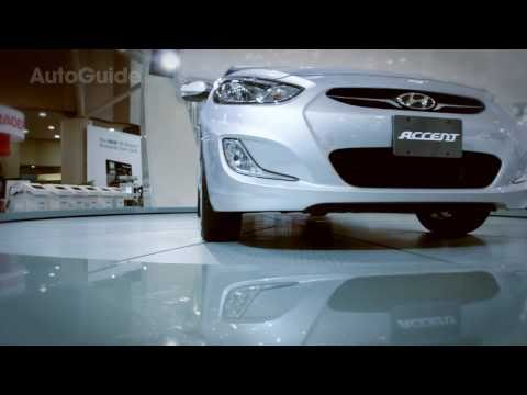 2012 Hyundai Accent Review - Canadian International Auto Show
