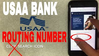 ✅  USAA Bank ABA Routing Number - Where Is It?  🔴