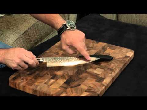 Shun Premier vs. Victorinox Fibrox — Chefs Knife.