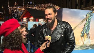 Aquaman World Premiere | Jason Momoa Wants Wife Lisa Bonet to Appear on 'SNL' With Him (26.11.18)