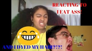 I EAT ASS (JP101) Reaction! (AND I DYED MY HAIR?!?!)
