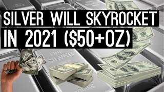Silver is going to skyrocket in 2021!!! Why you should be buying silver now!! (EV and Solar demand)