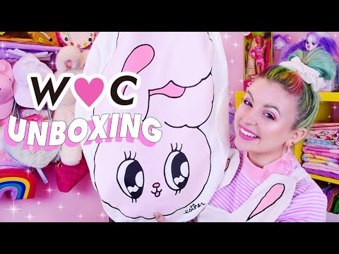 KAWAII MYSTERY UNBOXING!! 💜🐰💕 W♡C LUCKY PACK