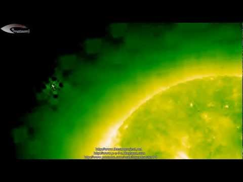 UFOs and Anomalies near the Sun – Review of NASA satellite pictures February 25, 2013.