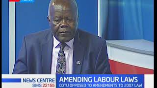 CWU Secretary General Benson Okwaro explains why there are so many industrial strikes in the country