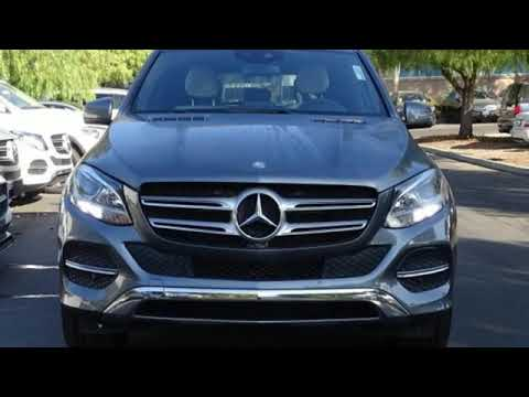 Certified 2017 Mercedes-Benz GLE San Francisco San Jose, CA #33870