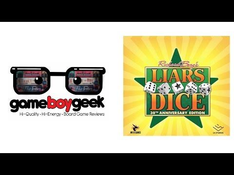 The Game Boy Geek Reviews Liar's Dice (30th Anniversary Edition)