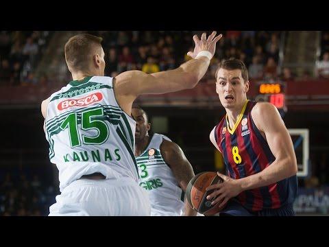 Highlights: FC Barcelona-Zalgiris Kaunas