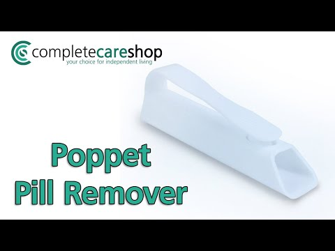 Poppet Pill Remover - Collects Pills In The Handle