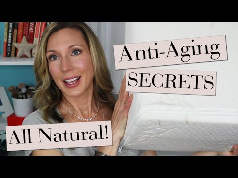 My Top 5 All-Natural Anti-Aging Secrets