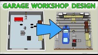 How I Used SketchUp To Design My Garage/Workshop