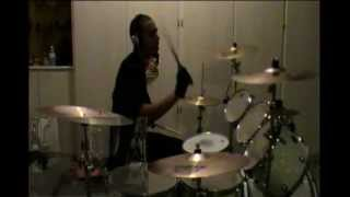"Dane White - Chimaira - ""Army Of Me"" Drums"