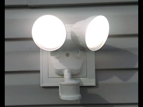 Review & Install Outdoor Defiant Led Motion Security Light