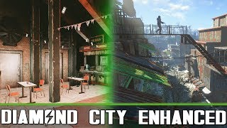 DIAMOND CITY ENHANCED - Fallout 4 - DC Enhanced Security and Overhaul