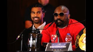 IS DEREK CHISORA'S PRESS RANT 'CRAZY' OR DOES HE HAVE A POINT?