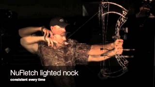 NuFletch Hi Speed video of Lighted Nock