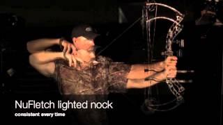 NuFletch Hi Speed video of Lighted Nock