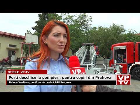 Porți deschise la pompieri, pentru copiii din Prahova